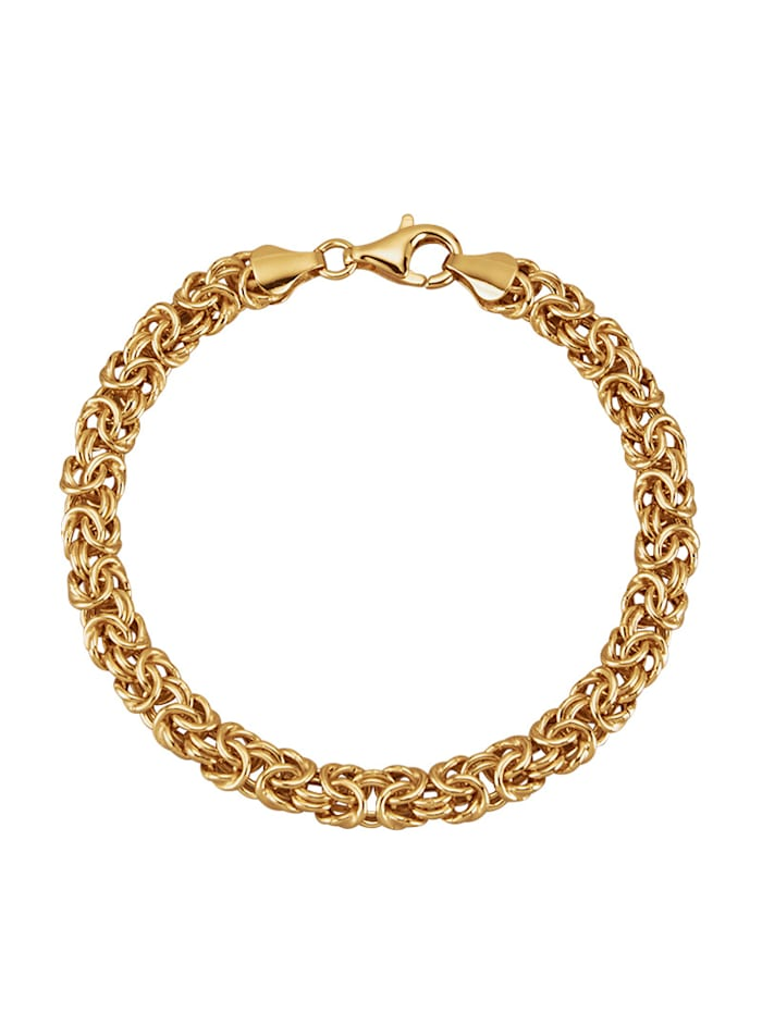 Armband i kejsarlänk av silver 925, Guldfärgad
