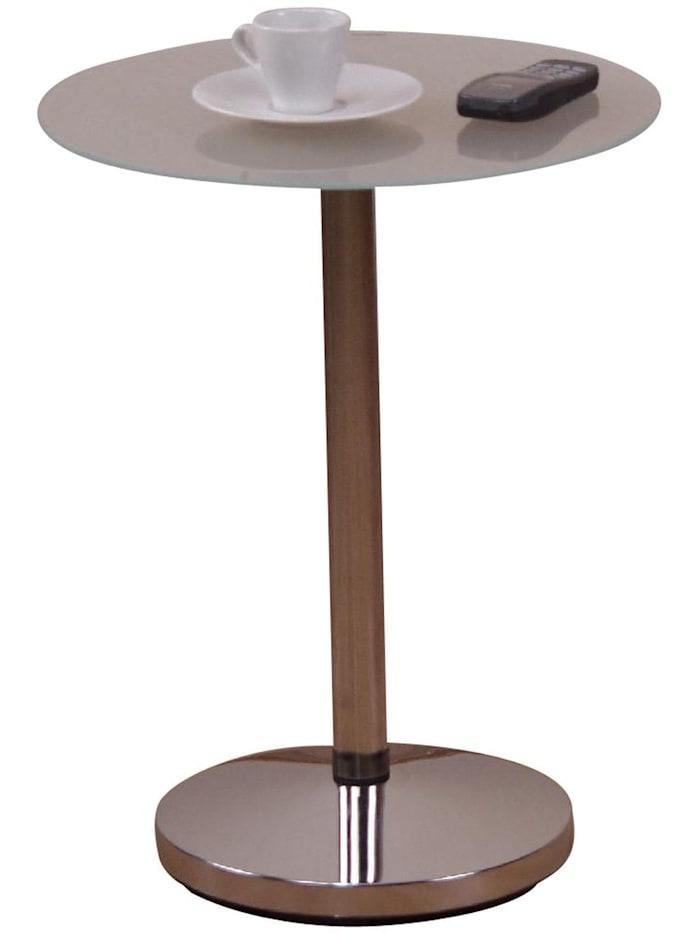 Möbel-Direkt-Online Beistelltisch Gabi, silber