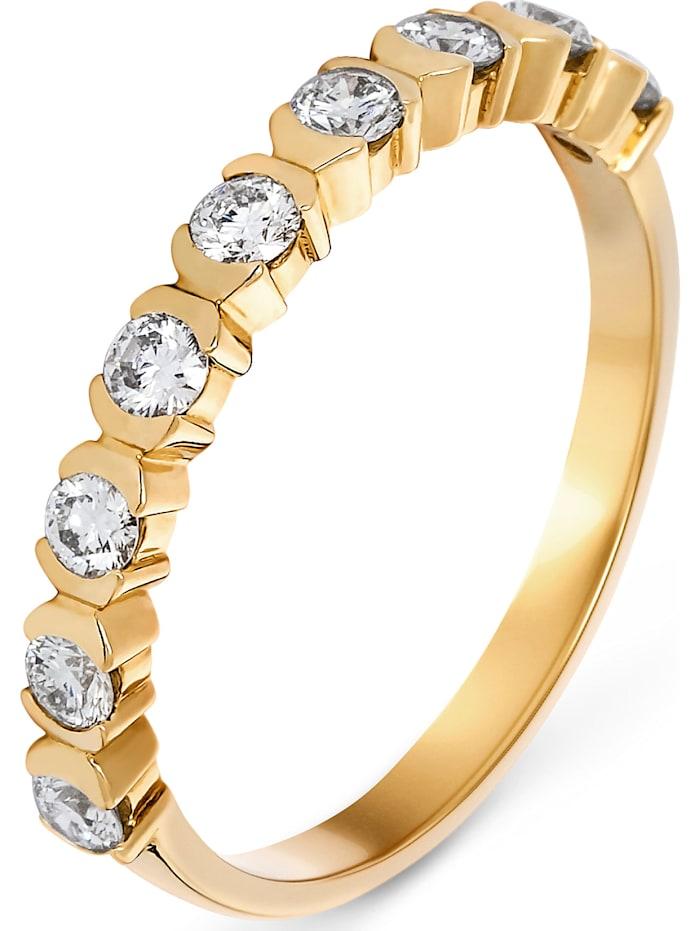 CHRIST C-Collection CHRIST Damen-Damenring 9 Diamant, gelbgold