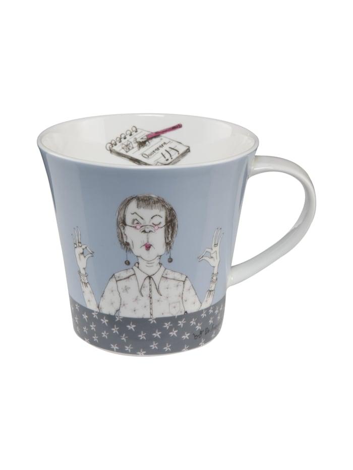 """Goebel Goebel Coffee-/Tea Mug Barbara Freundlieb - """"Immer mit der Ruhe"""", Immer mit der Ruhe"""