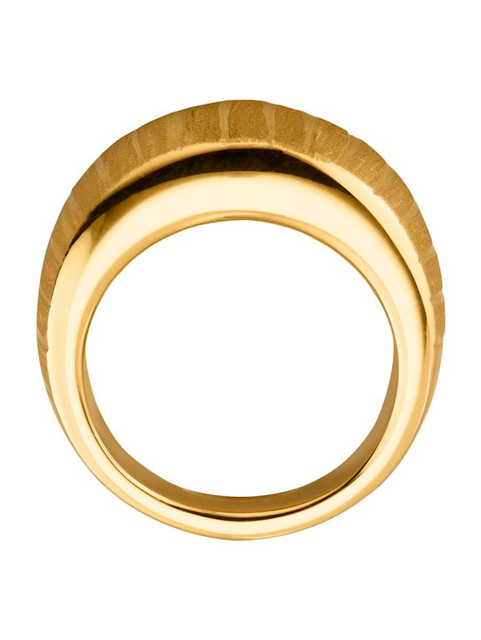 Bague en or jaune 585