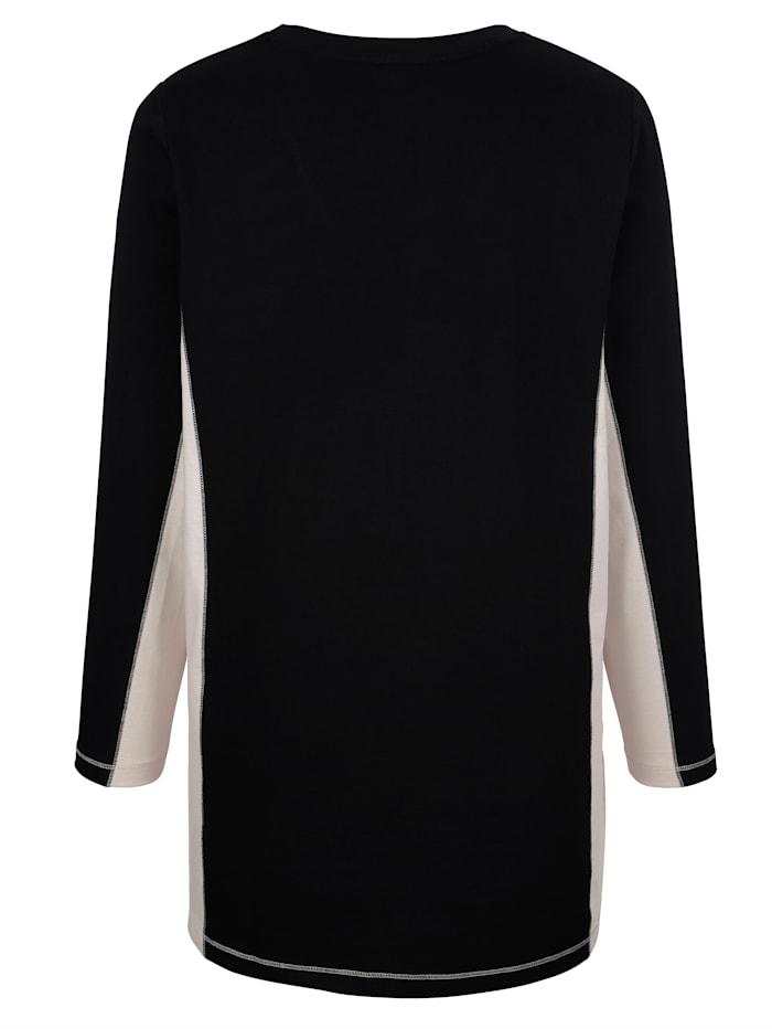 Sweatshirt med nitar