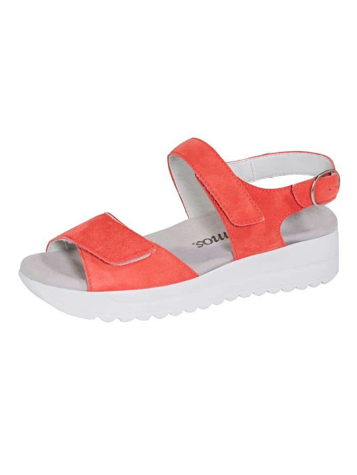 Vamos Sandale mit Shock-Absorber, Koralle