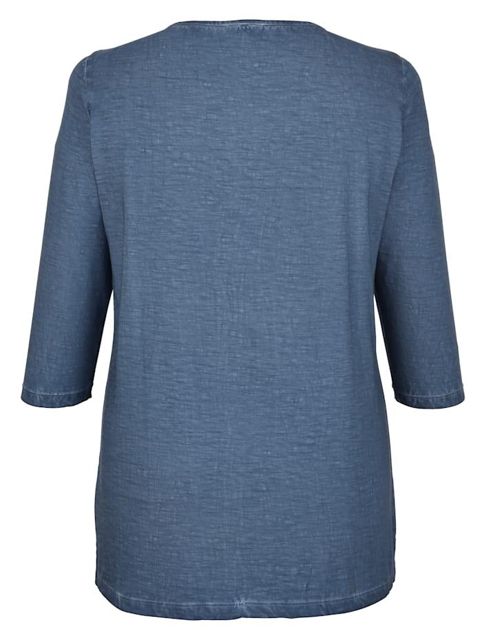 Shirt mit Kordel am Ausschnitt