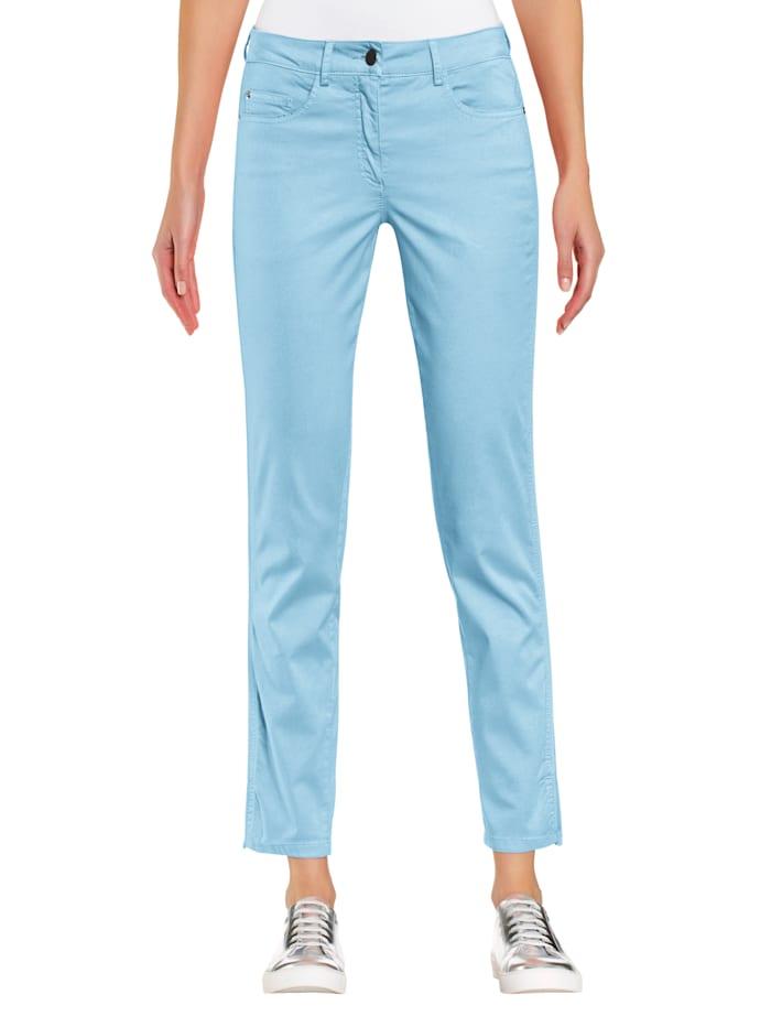 Alba Moda Broek met optimaal comfort, Turquoise