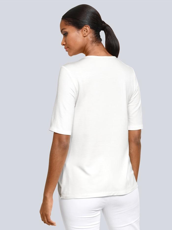 Shirt in Modal-Qualität