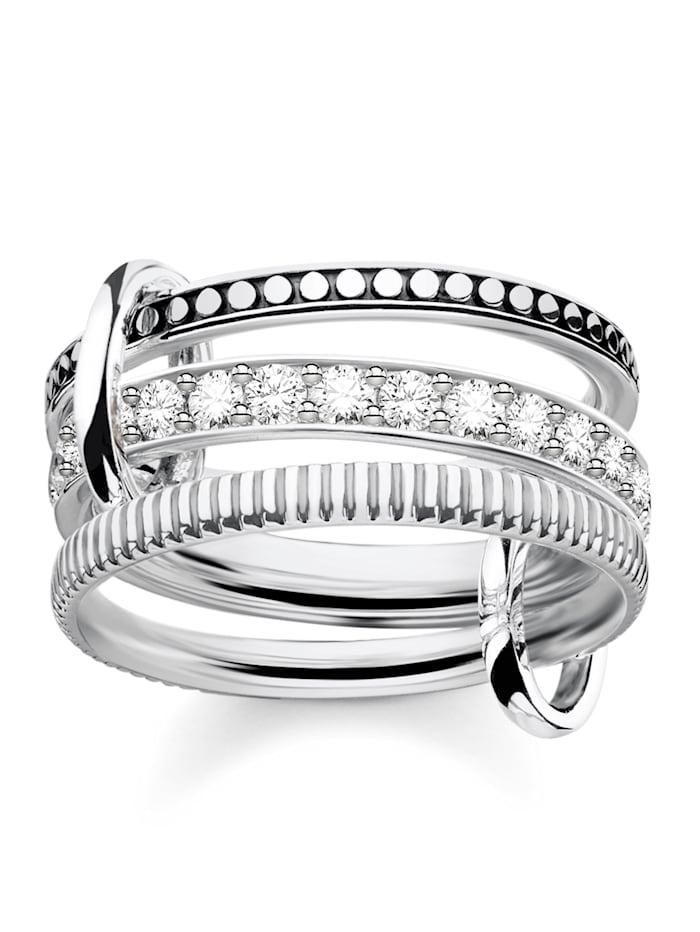 Thomas Sabo Triple Ring in Silber 925 TRIPLE RING TR2193-643-14, Silberfarben