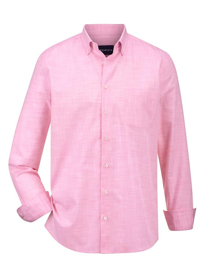 Babista Premium Skjorta av lin och bomull, Rosa