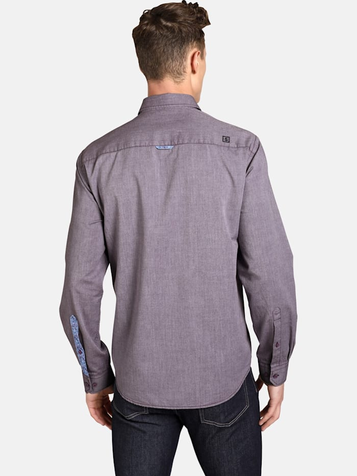 Shirtmaster Hemd purplefall