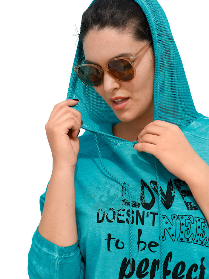 Shirt mit Meshdetails