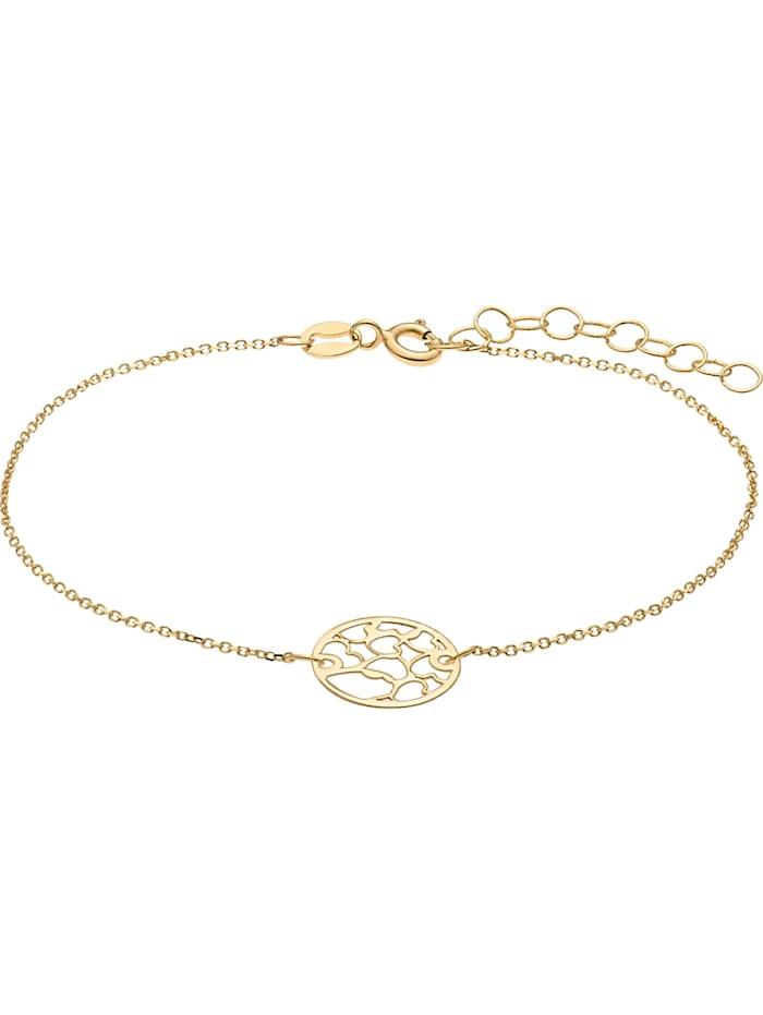 CHRIST GOLD CHRIST Gold Damen-Armband 375er Gelbgold, gold