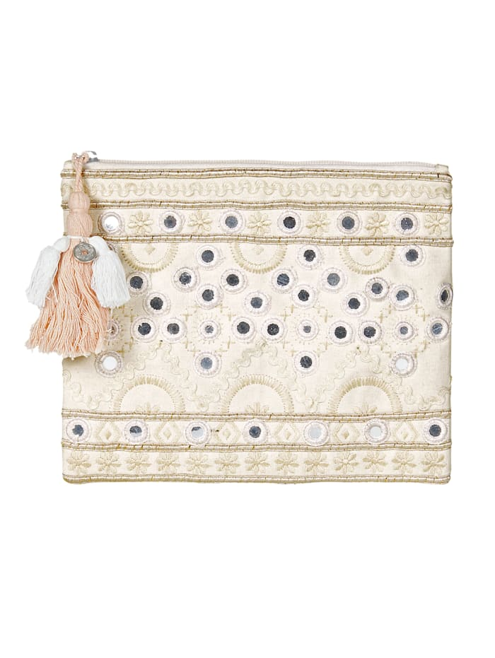 SIENNA Clutch, Off-white
