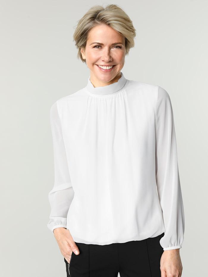 MONA Bluse, Weiß