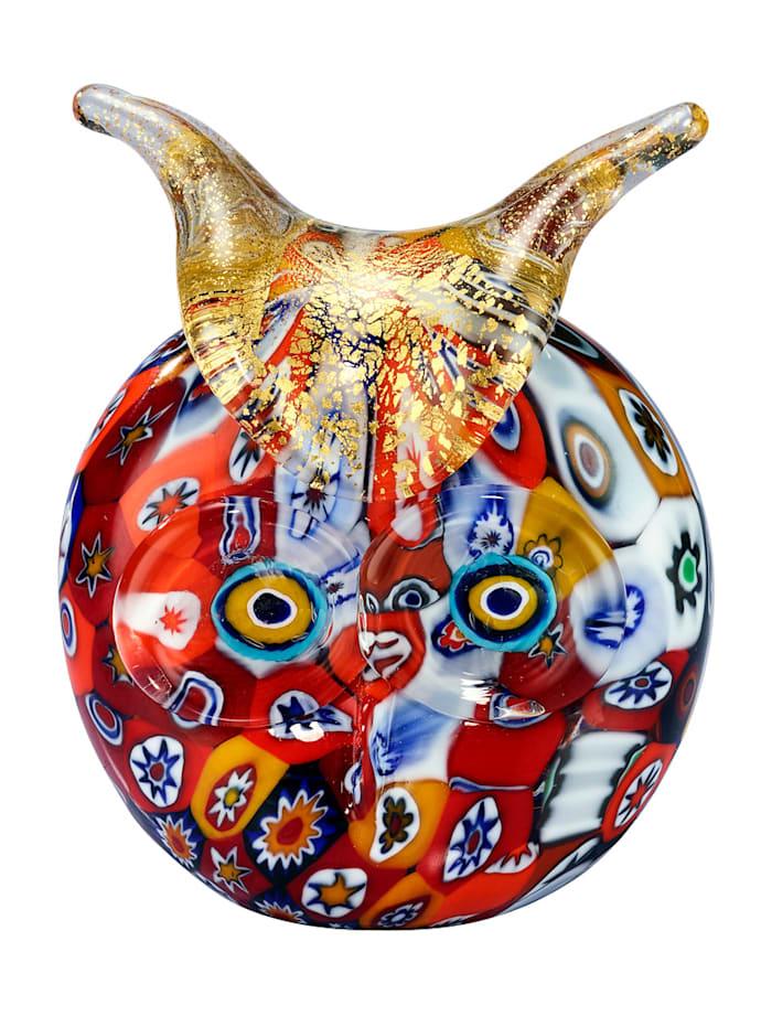 Muranolasi-pöllö, monivärinen