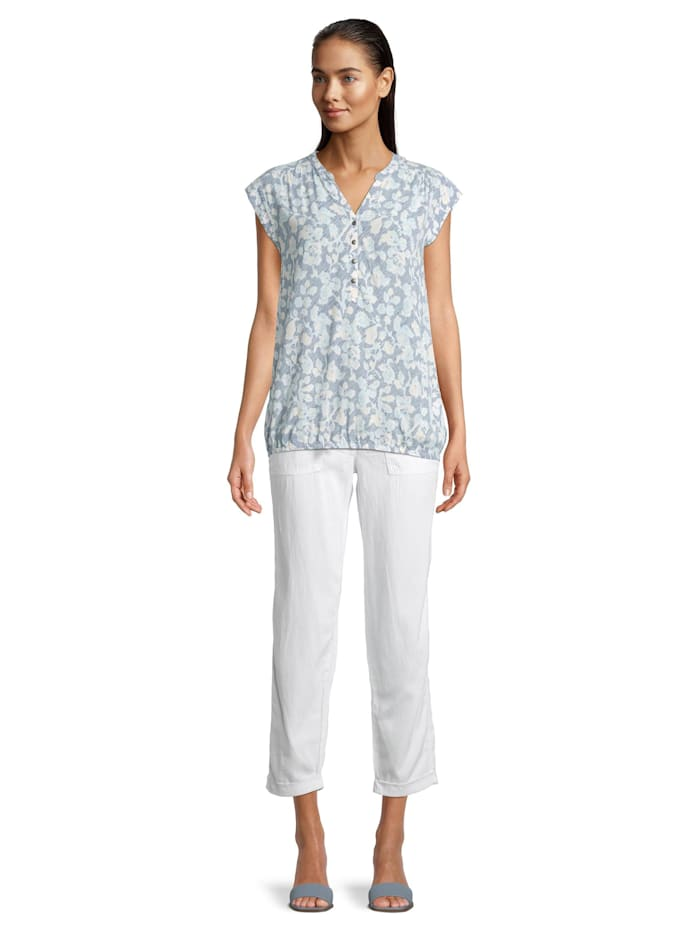 Casual-Bluse ohne Arm Druck