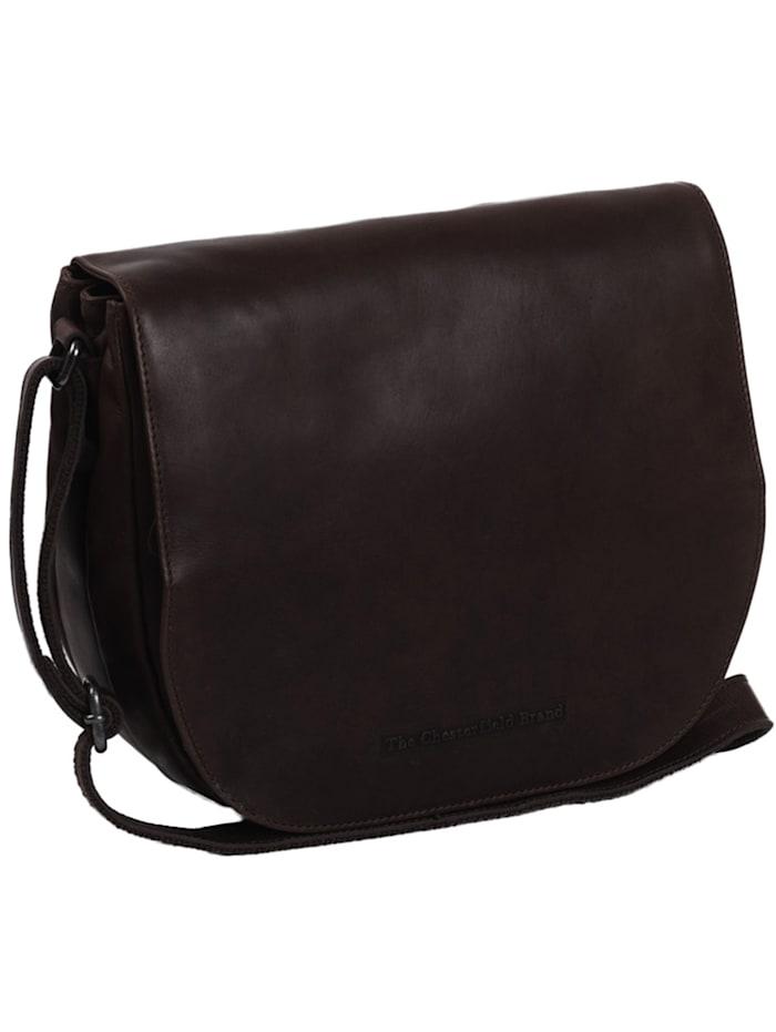 The Chesterfield Brand Wax Pull Up Millie Umhängetasche Leder 26 cm, braun