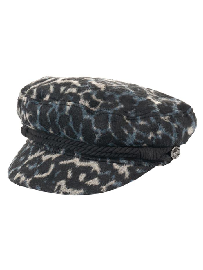 Barts Bakerboy-Mütze, blau-schwarz