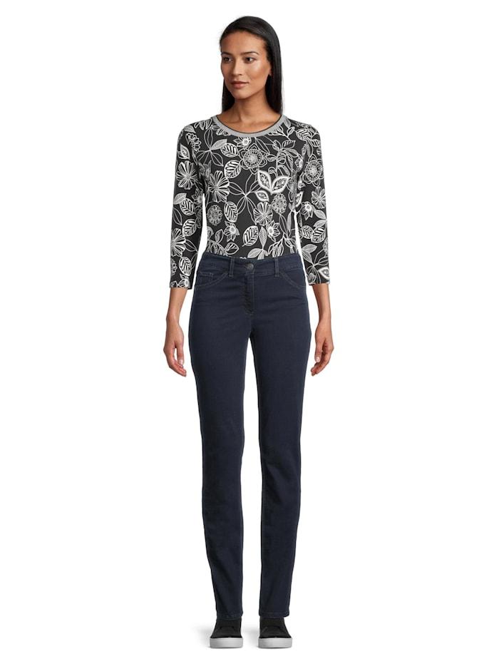 Betty Barclay Basic-Jeans mit aufgesetzten Taschen Material, Dunkelblau
