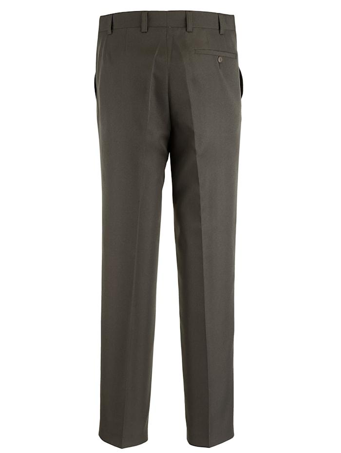 Pantalon avec élastique sous ceinture