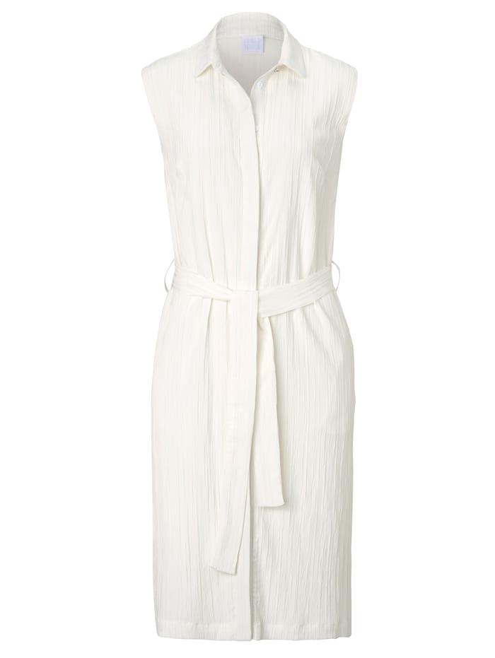 REKEN MAAR Blusenkleid, Off-white