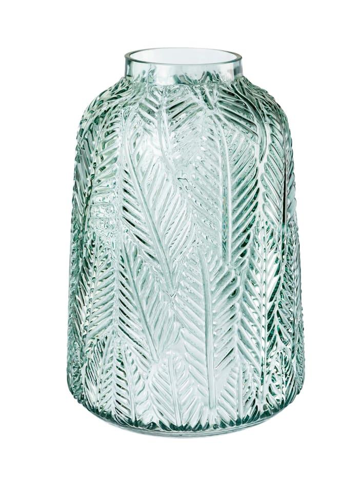 Creativ Deco Vase Blätter, Grün