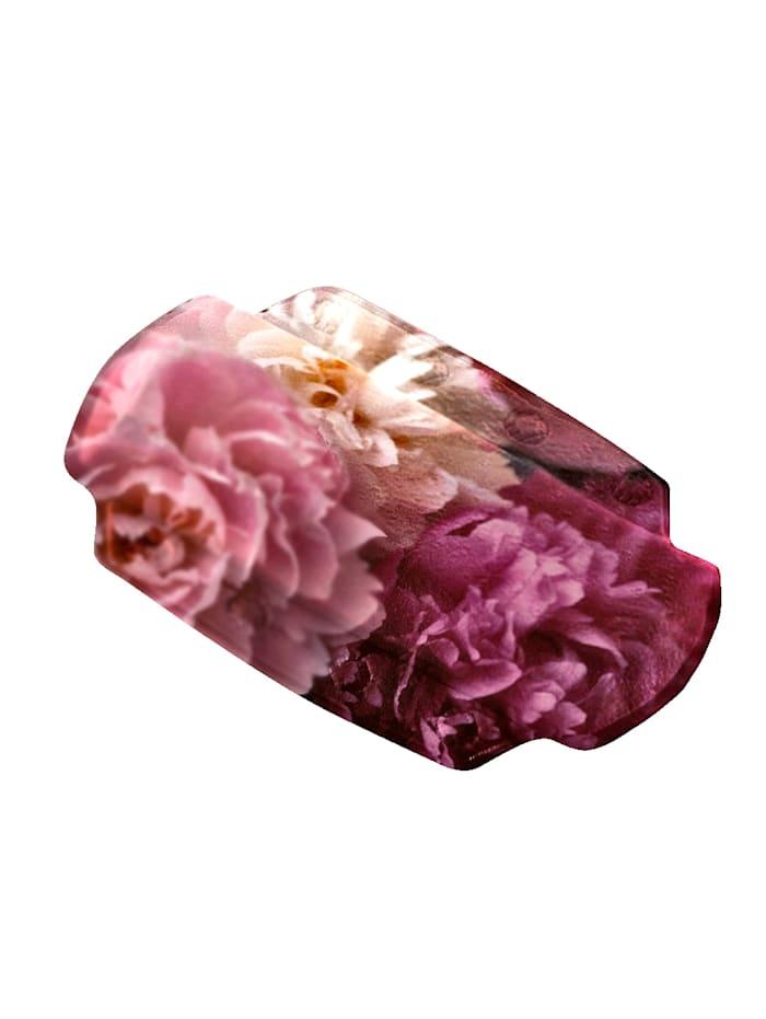 Kleine Wolke Niskatyyny kylpyammeeseen, roosa/valkoinen/bordeaux