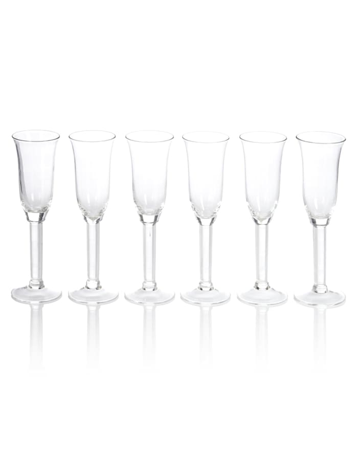 IMPRESSIONEN living Glas-Set, 6-tlg., transparent, Sektglas-Set