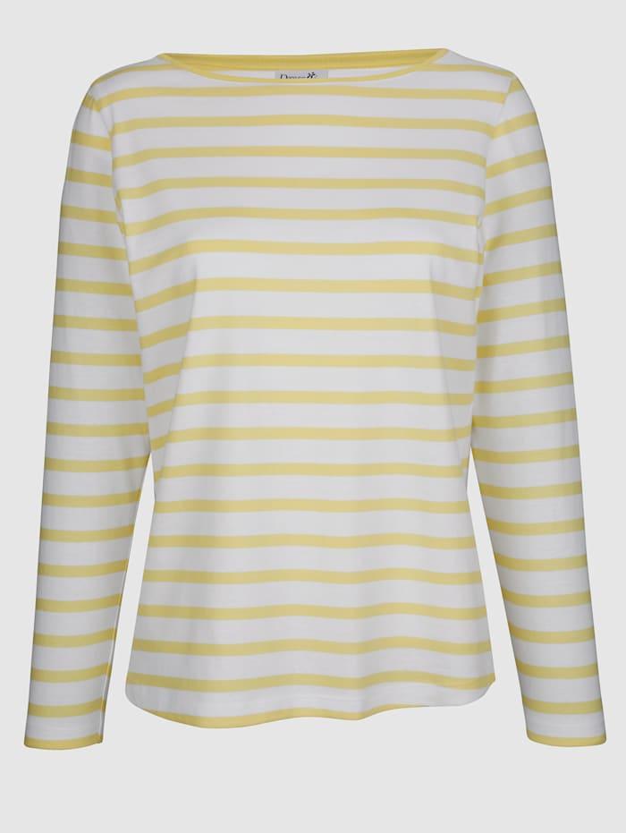 Shirt mit sportlichen Streifendesign