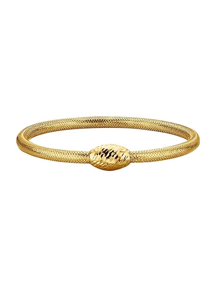Bracelet mesh, Coloris or jaune
