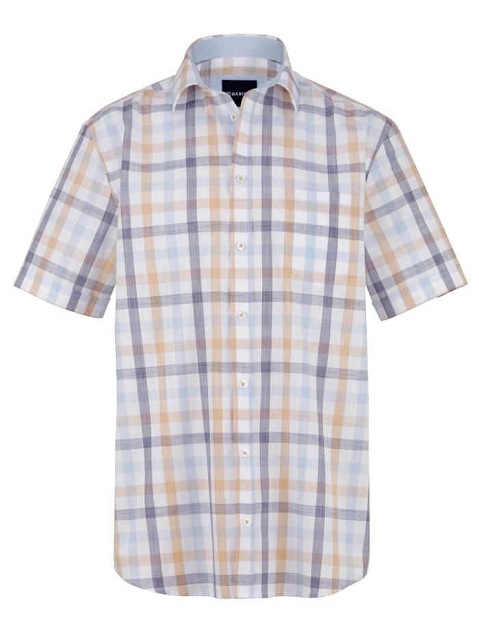 BABISTA Overhemd, Beige/Lichtblauw