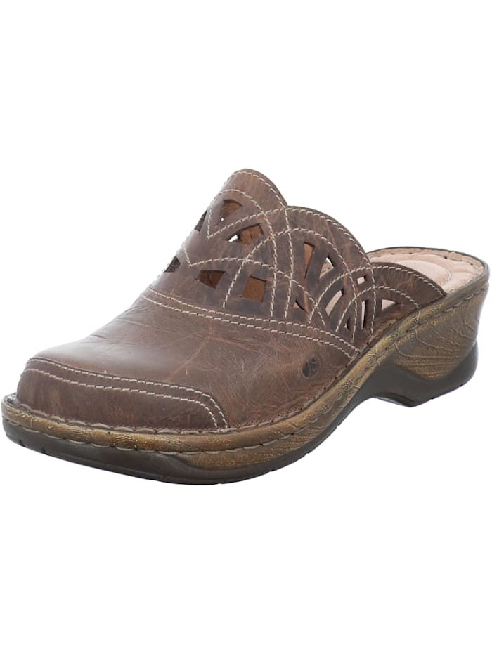 Josef Seibel Damen-Clog Catalonia 41, brandy