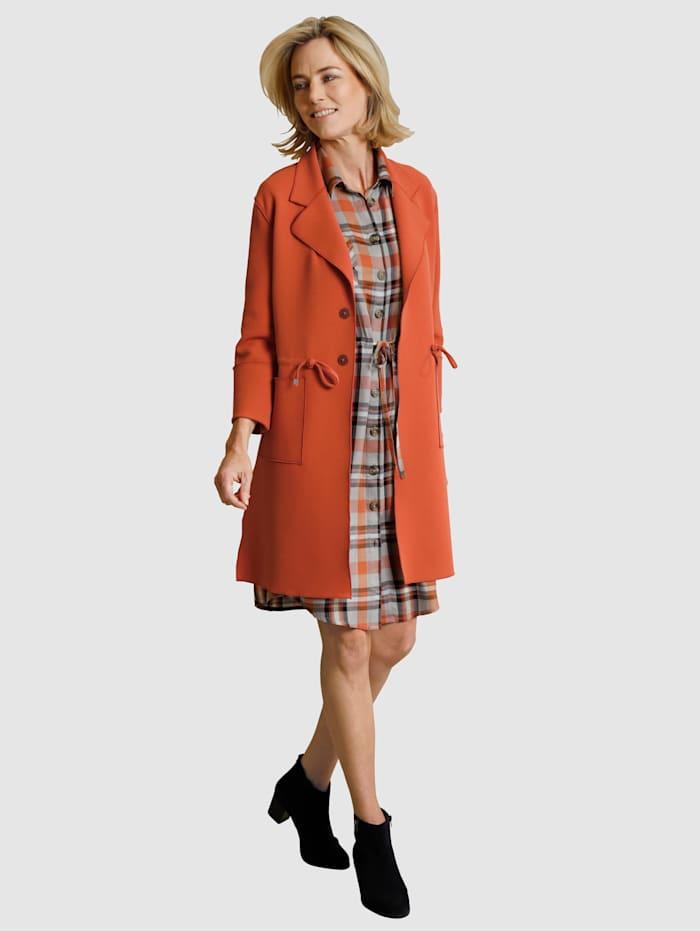 Manteau avec col à revers