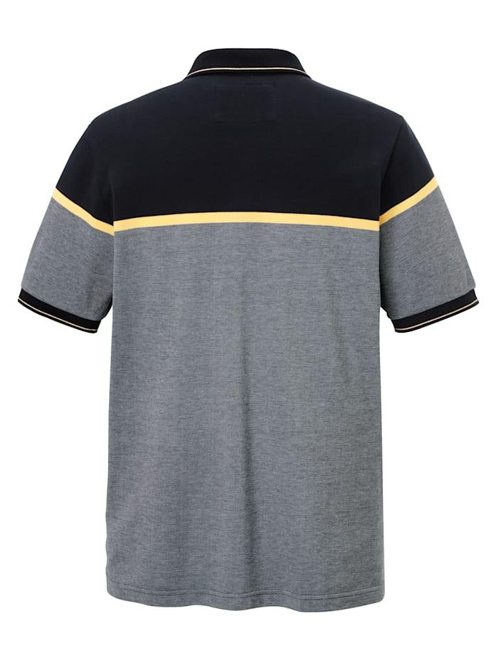 Poloshirt in luftdurchlässiger Piqué-Qualität