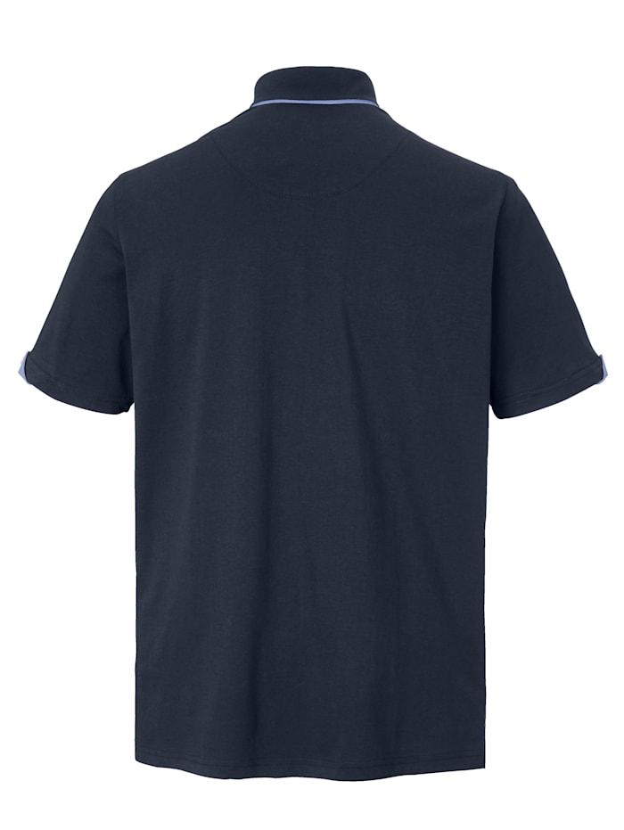 Poloshirt van zuiver katoen