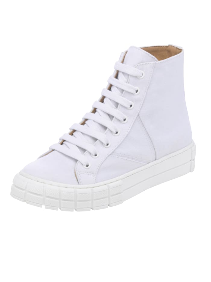 Alba Moda High-Top-Sneaker, Weiß