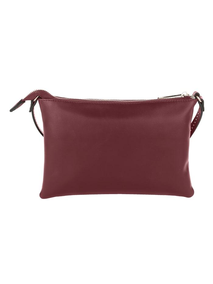 Shoulder bag with fine stud detailing