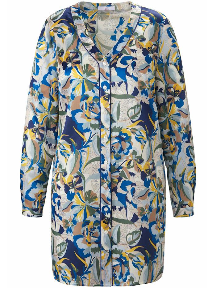Emilia Lay Langarmbluse Long-Bluse, multicolor