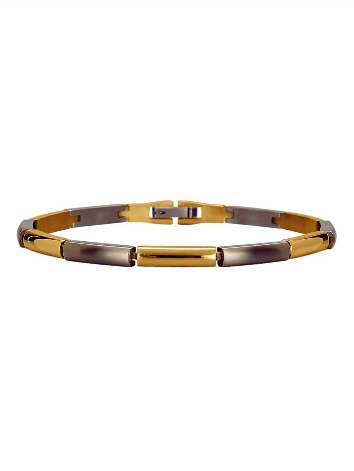 Armband aus Titan, Grau