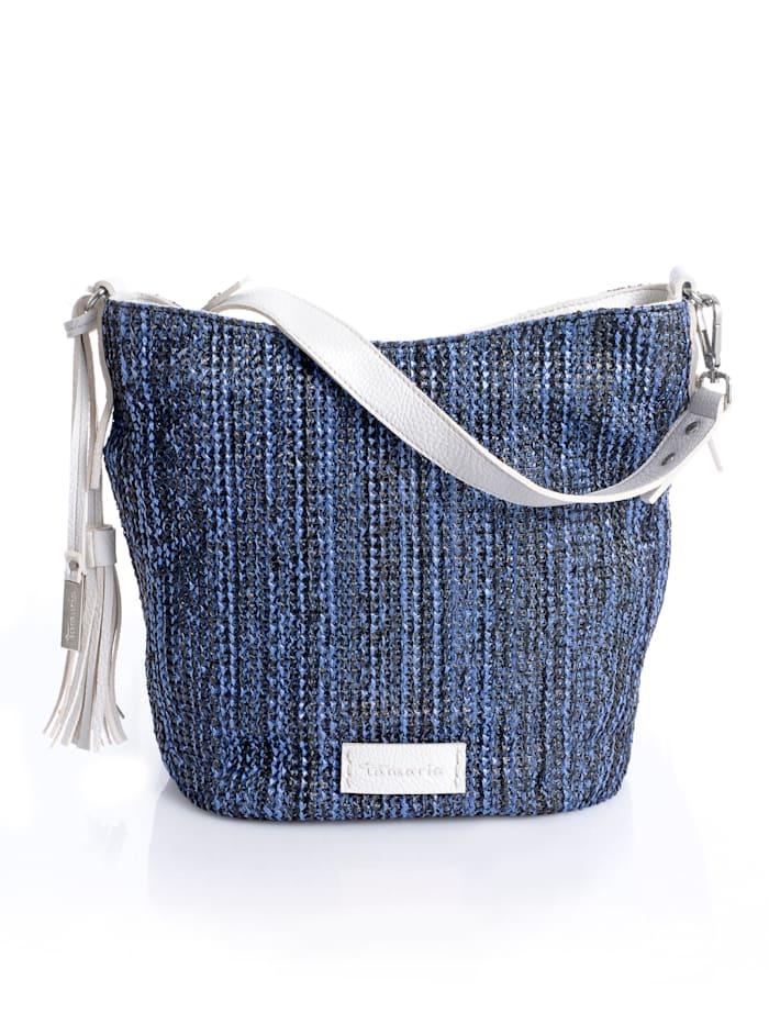 Tamaris Tasche aus Polyurethan, Blau