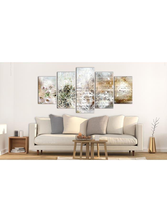 Wandbild Starry Dandelions II