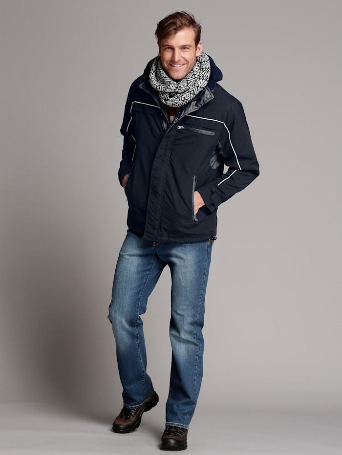 Men Plus Jacke wasserabweisend, Marineblau