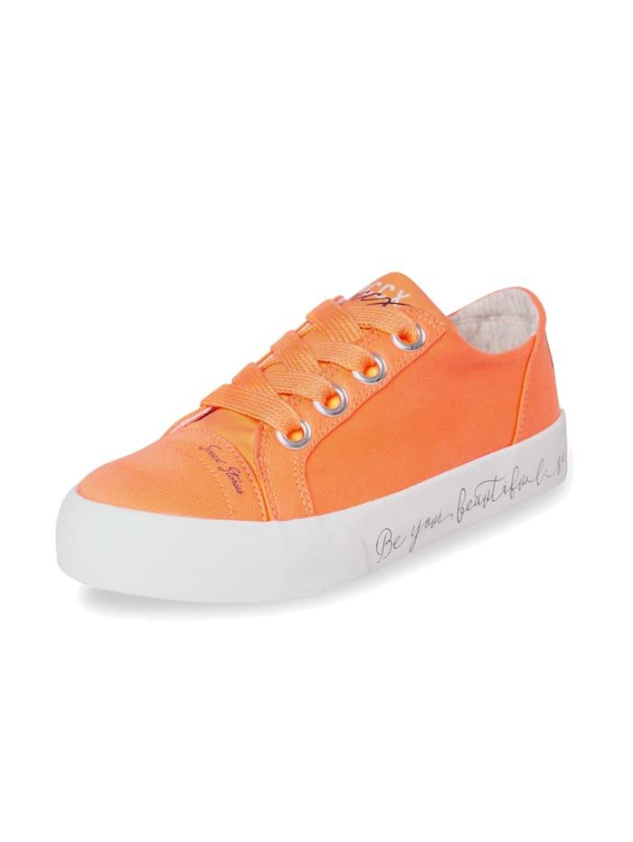 Veganer Plateau-Sneaker