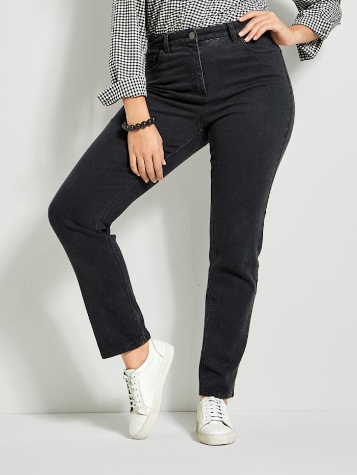 Angel of Style Slim Fit jeans, Zwart