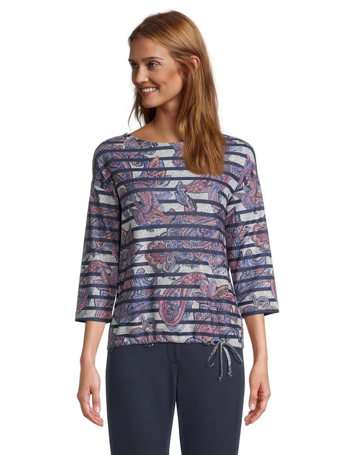 Betty Barclay Casual-Sweatshirt mit Aufdruck, Dunkelblau