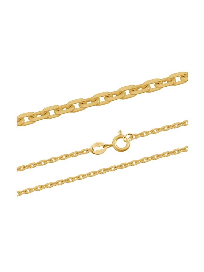 ARU Halsband i ankarlänk, Guldfärgad