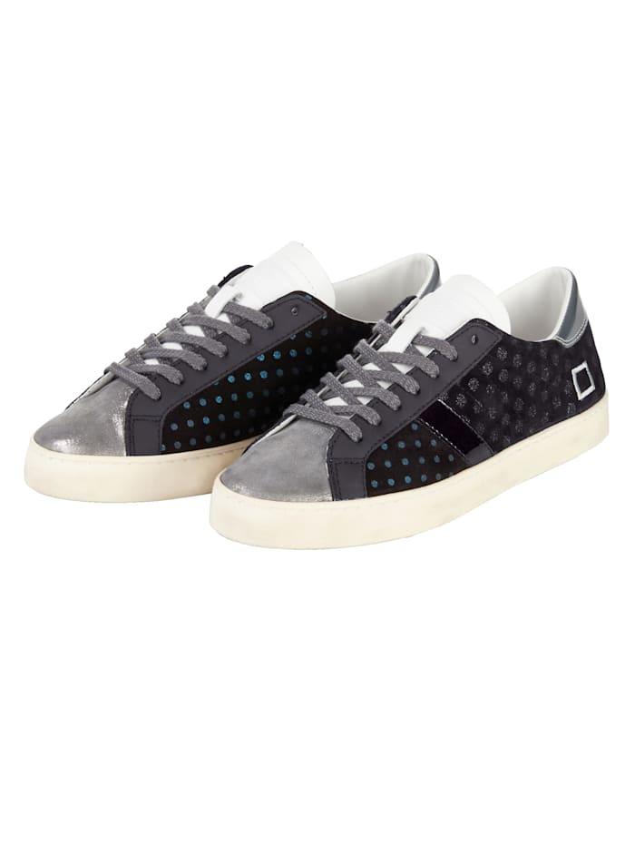 D.A.T.E. Sneaker, Schwarz