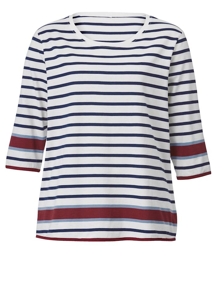 Shirt in Streifenoptik