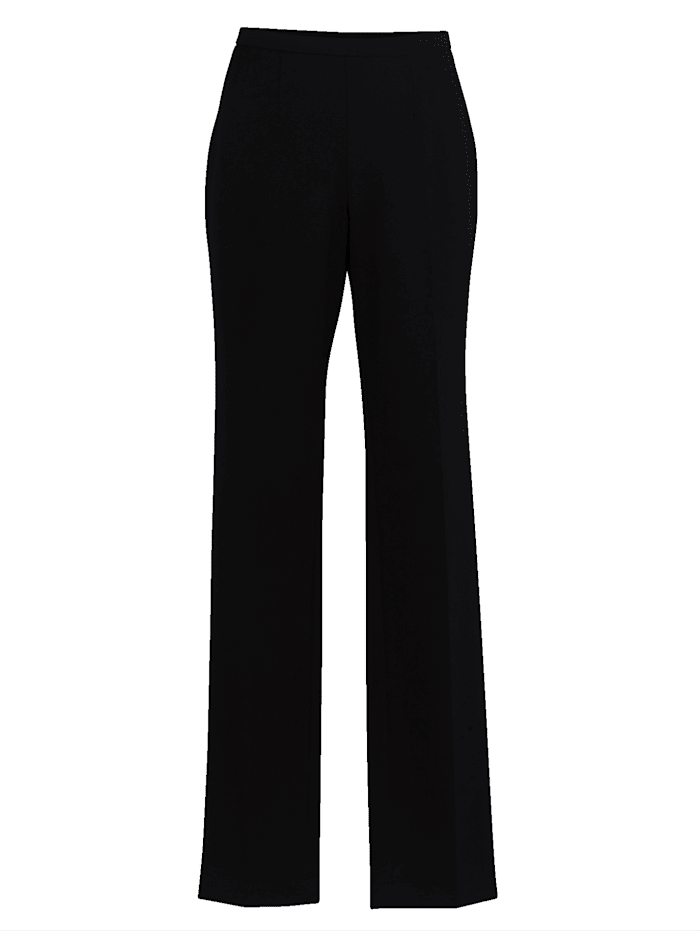 Slim leg trousers with quality bi-stretch material