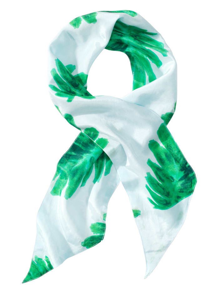 Fabienne Chapot Tuch, blau/grün