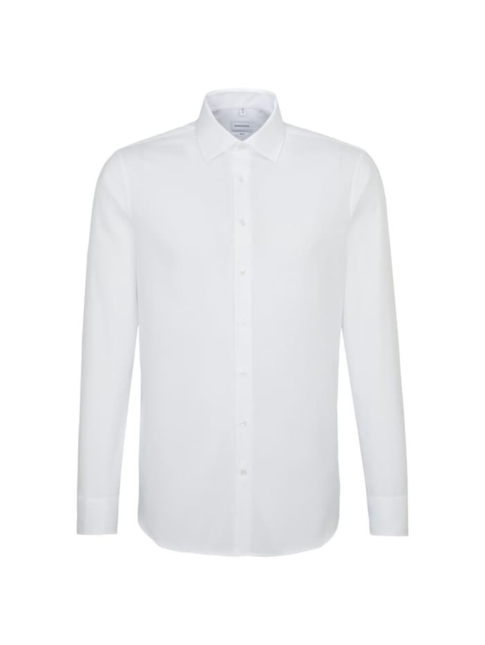 Seidensticker Business Hemd ' Slim ', weiß (0001)
